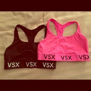 Bundle of TWO Victoria's Secret VSX Sports Bras